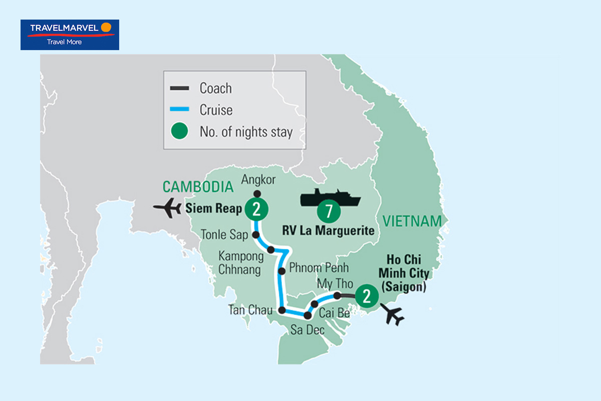 Essential Vietnam and Cambodia 12 Day River Cruise
