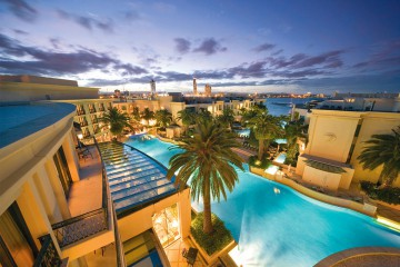 Luxurious Palazzo Versace Gold Coast with Flights