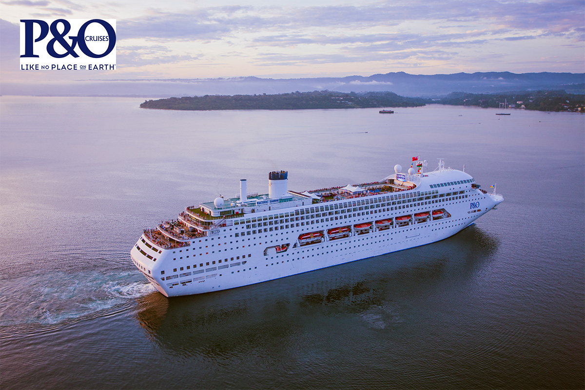 P&O 7 Nights Pacific Island Hopper Cruise with flights departing Perth – W530