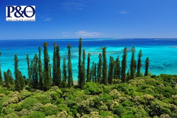 P&O 9 Night Retreat to Isle of Pines Cruise with flights departing Perth – P525