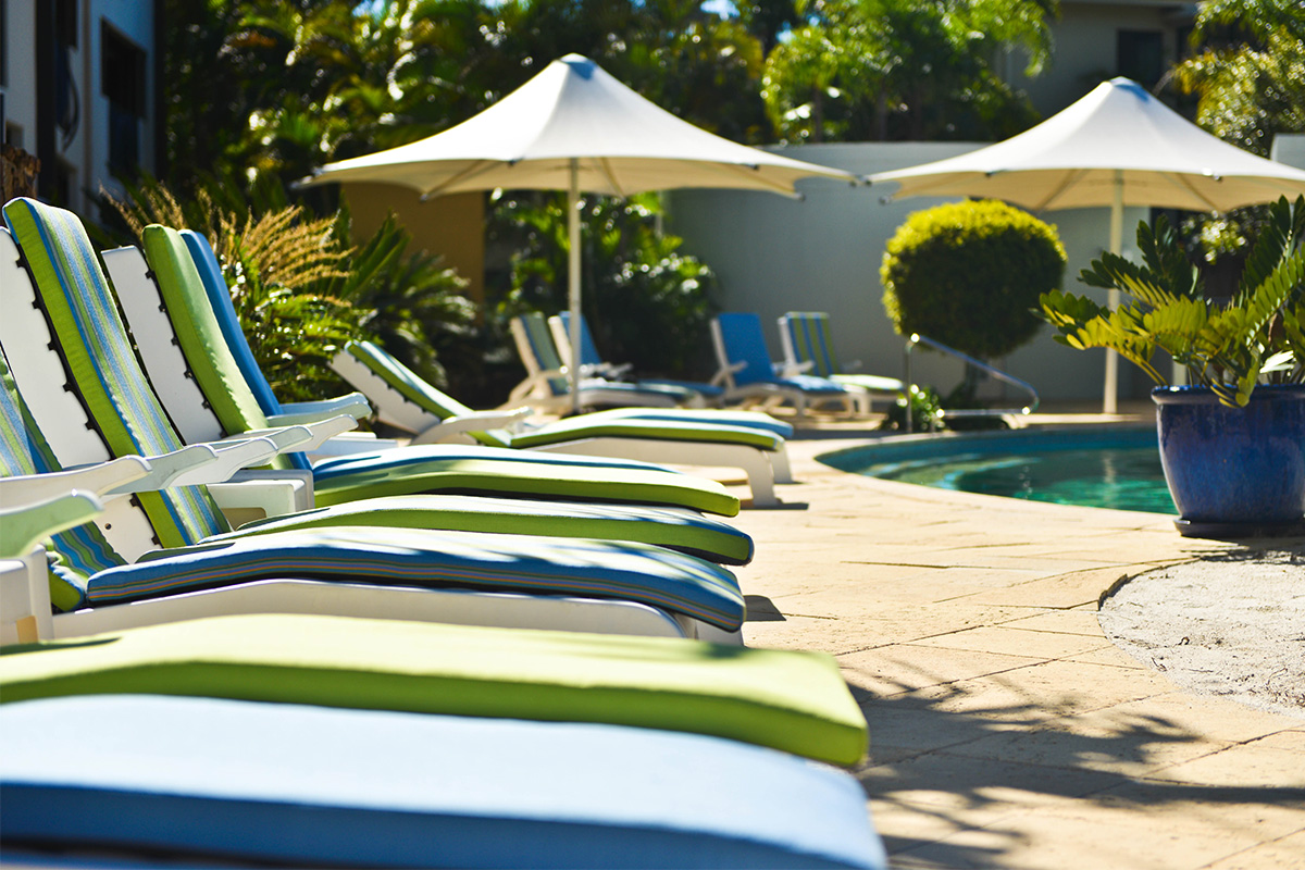 3 or 5 Night Package at the Noosa Blue Resort with flights