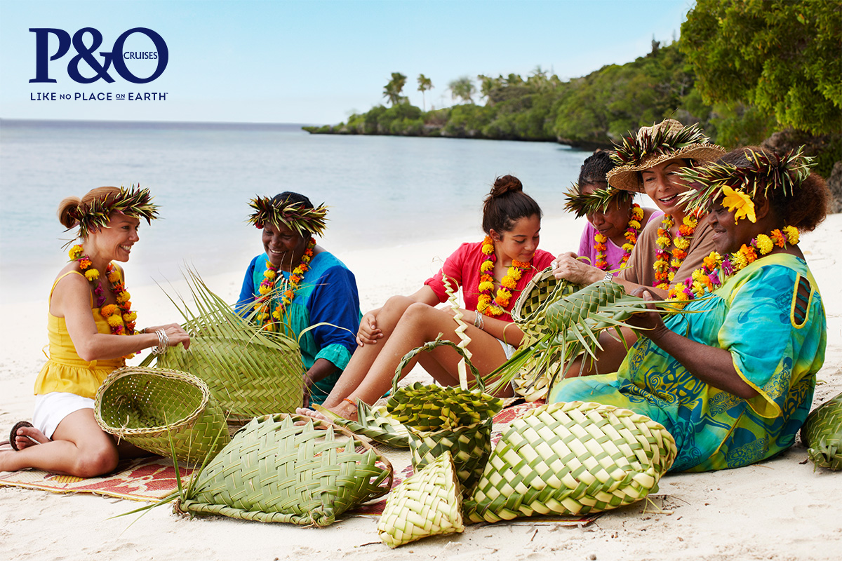 P&O 7 Night Pacific Island Hopper Cruise