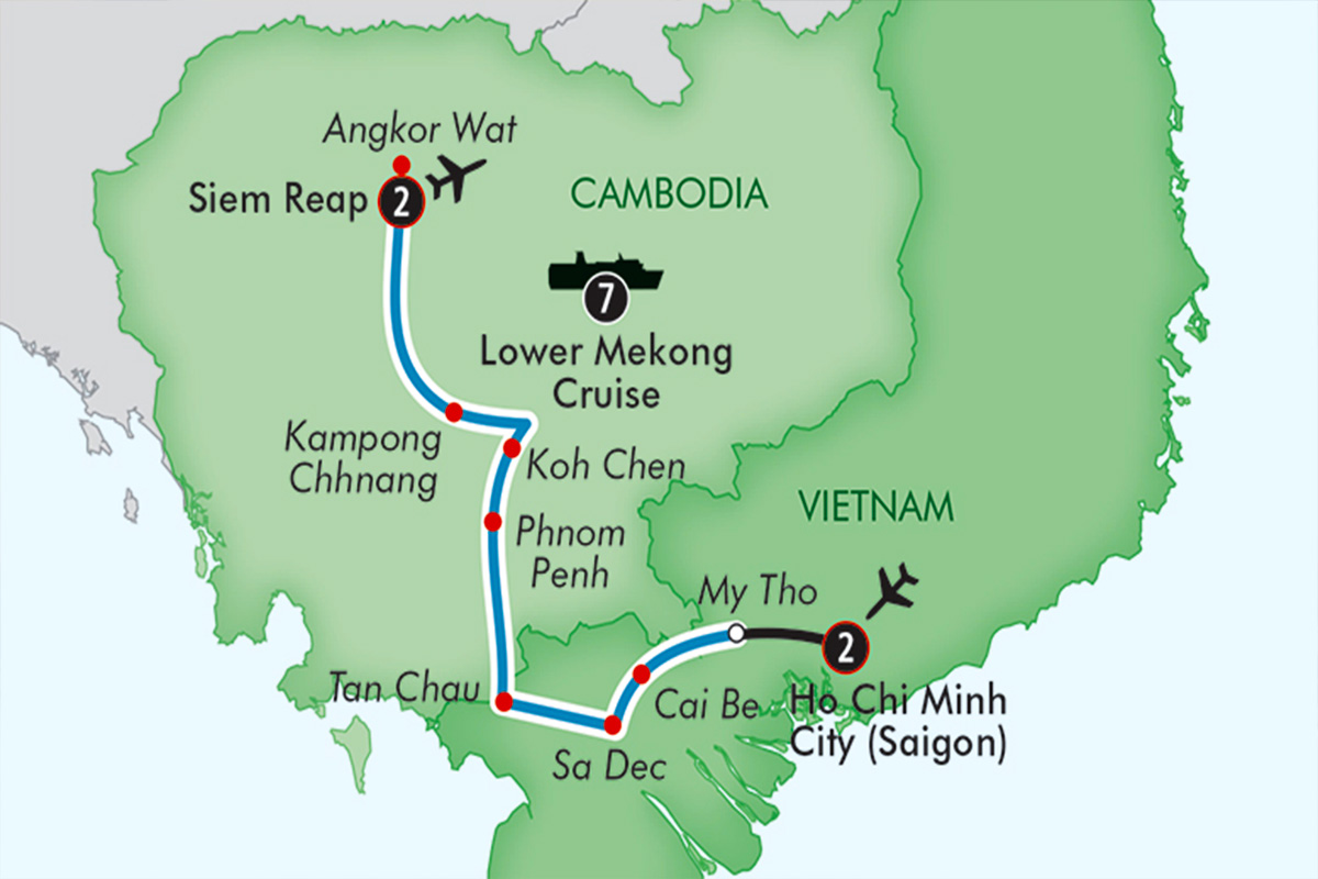 Last Minute Vietnam and Cambodia River Cruise – Christmas Special