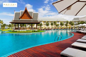 8 or 10 nights at the Sofitel Krabi