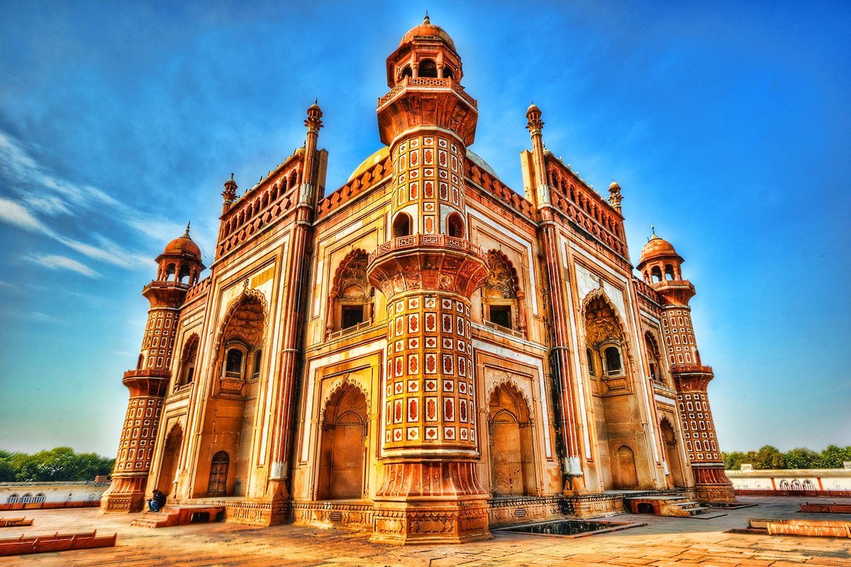 Golden Triangle tour India with flights