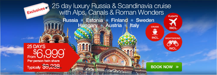 Cheap 25 Day Luxury Russia Amp Scandinavia Cruise With The