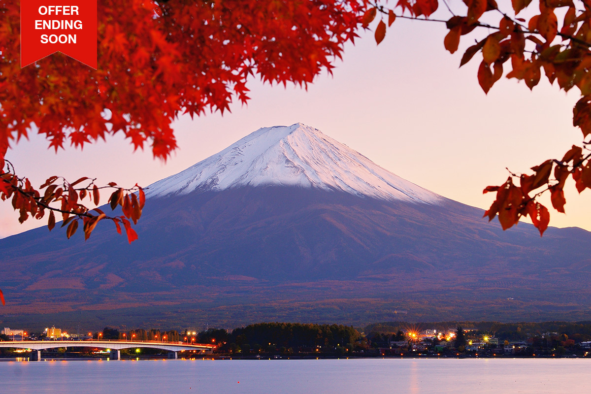 16 Day Discover Japan – Interest Free – Limited Offer