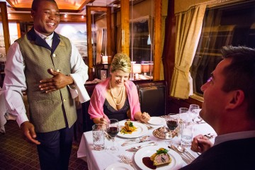 Kruger to Cape Town Safari & luxurious Blue Train