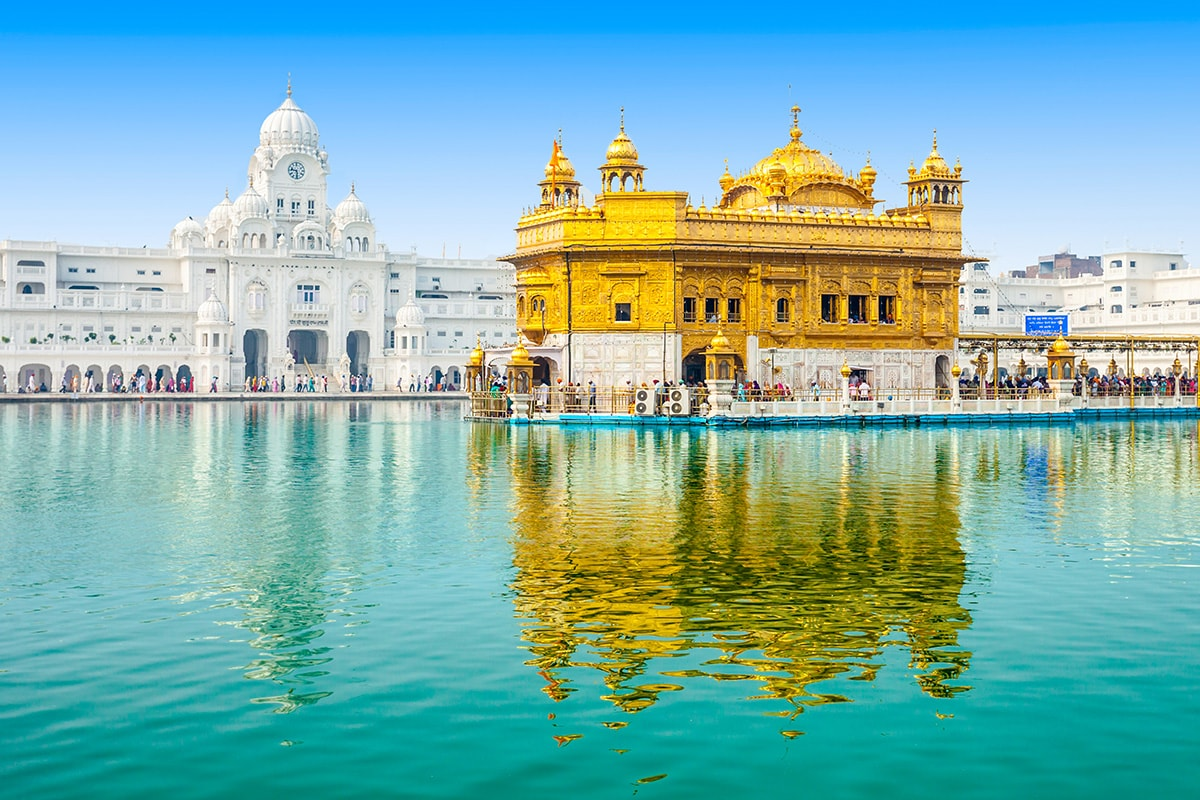 18 Day Splendours of Amritsar & the Bengal Tiger with flights