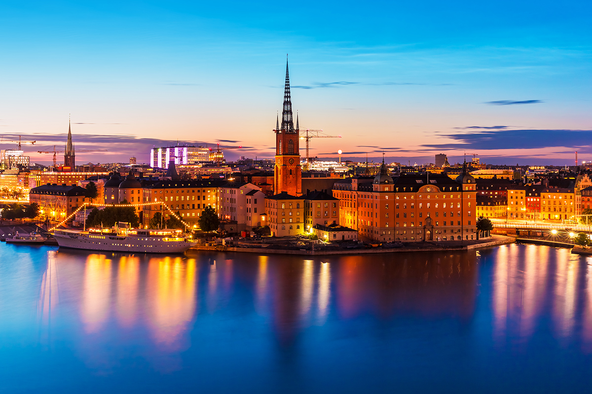 13 day Scandinavia & Russia Cruise Package with Flights