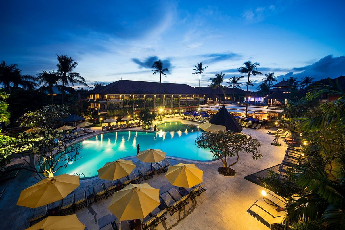 Bali dynasty resort bali holiday deals webjet exclusives for Hotels in bali 5 star luxury