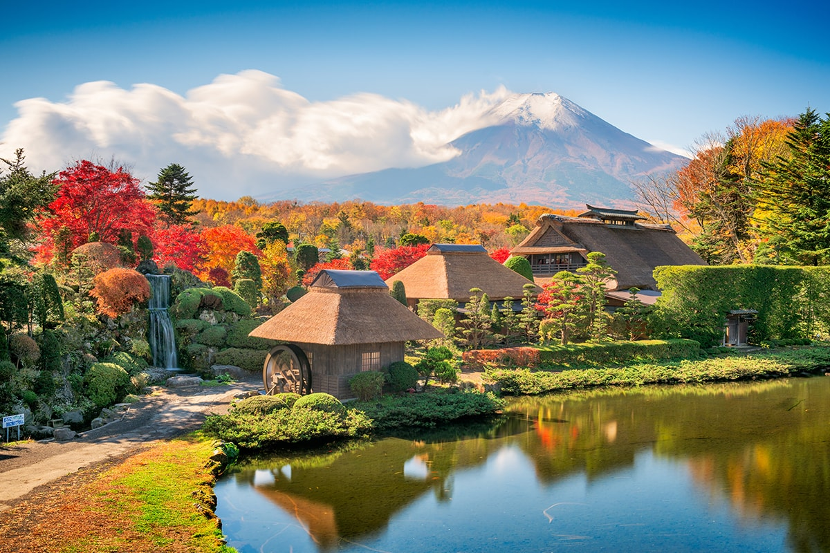 15 day Traditional Japan small group tour with Qantas flights