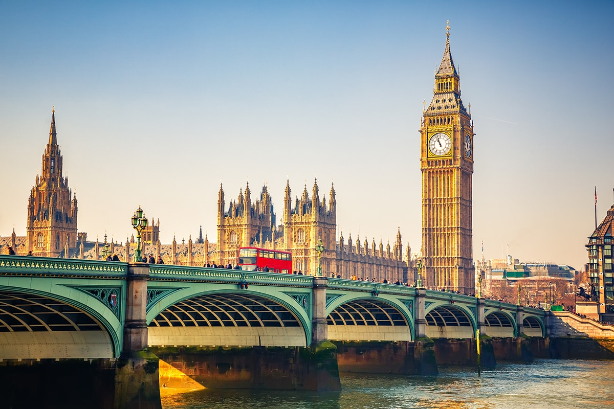 24 Day Britain & Europe Tour with flights