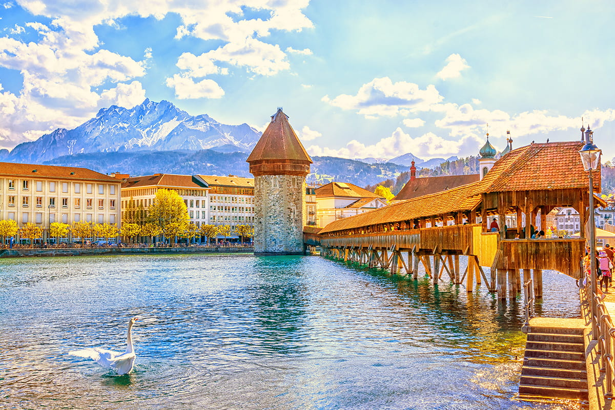 17 Day Great Britain, France, Switzerland and Italy Tour with flights