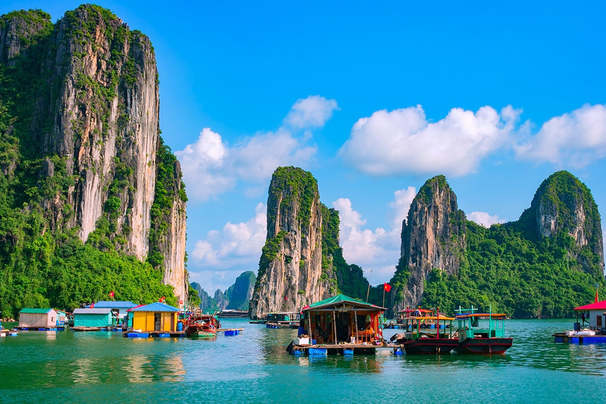 18 Day South East Asia Cruise Package with Flights
