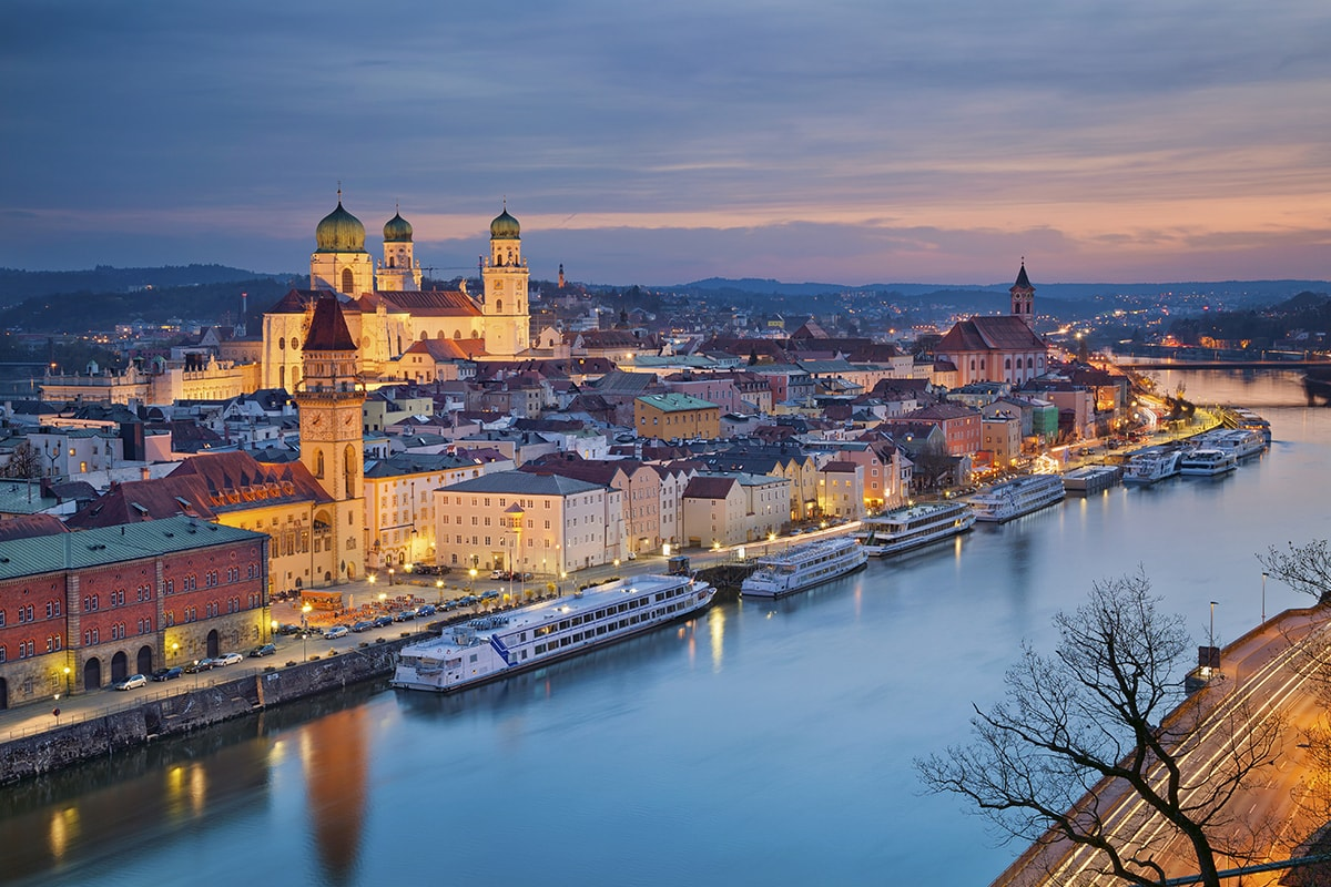 13 day Germany's Bavaria with Danube River Cruise and flights