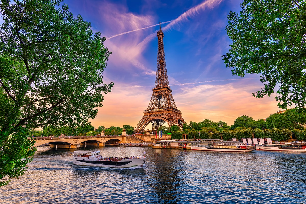 14 day Paris and Seine Normandy River Cruise package with flights