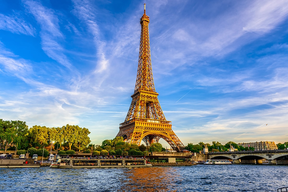 16 day French Riviera cruise package with Paris and Lyon with flights