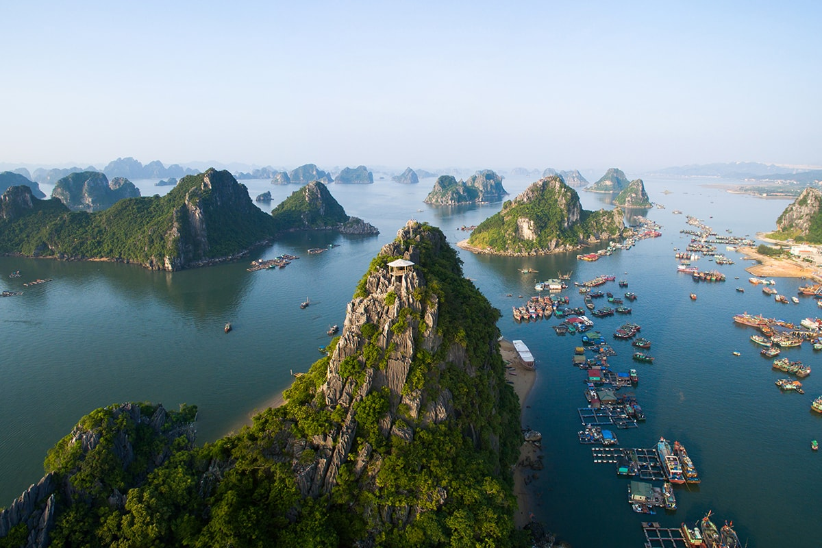 20 day Vietnam & Cambodia Tour with Halong Bay and Mekong River cruise
