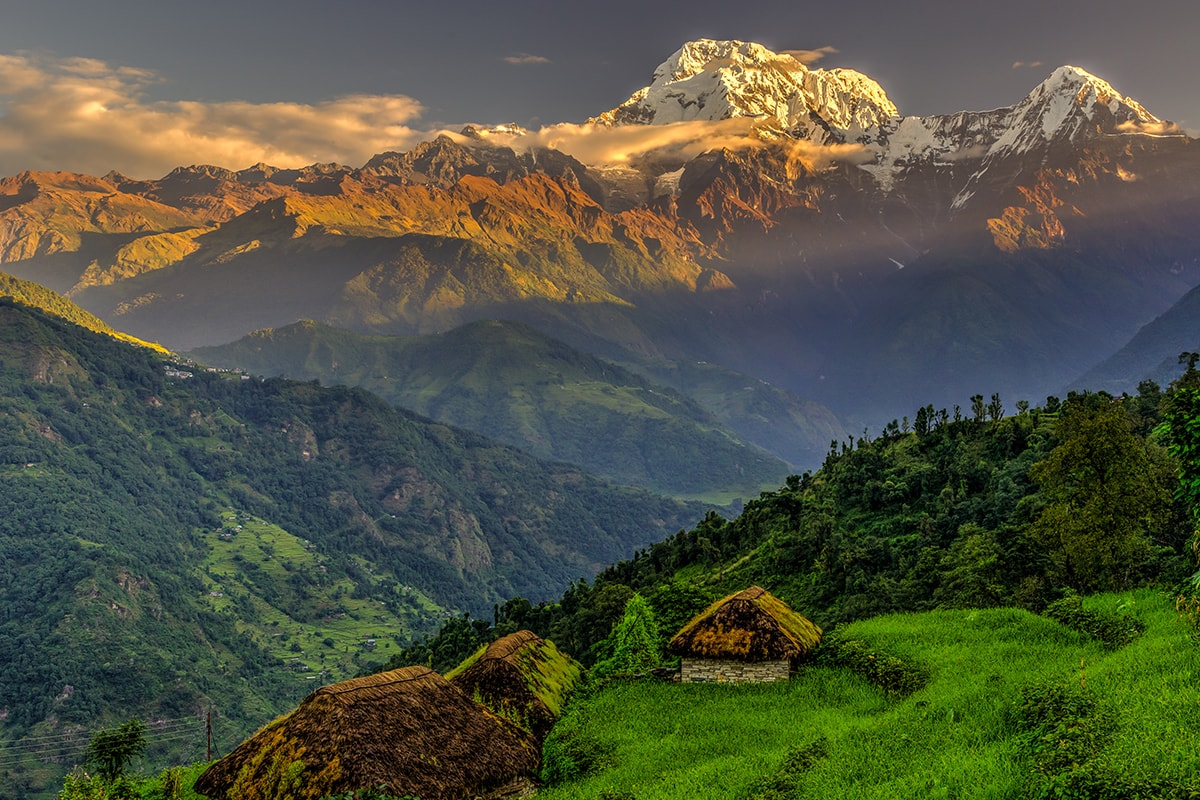 15 day Nepal's Annapurna Base Camp trek with flights