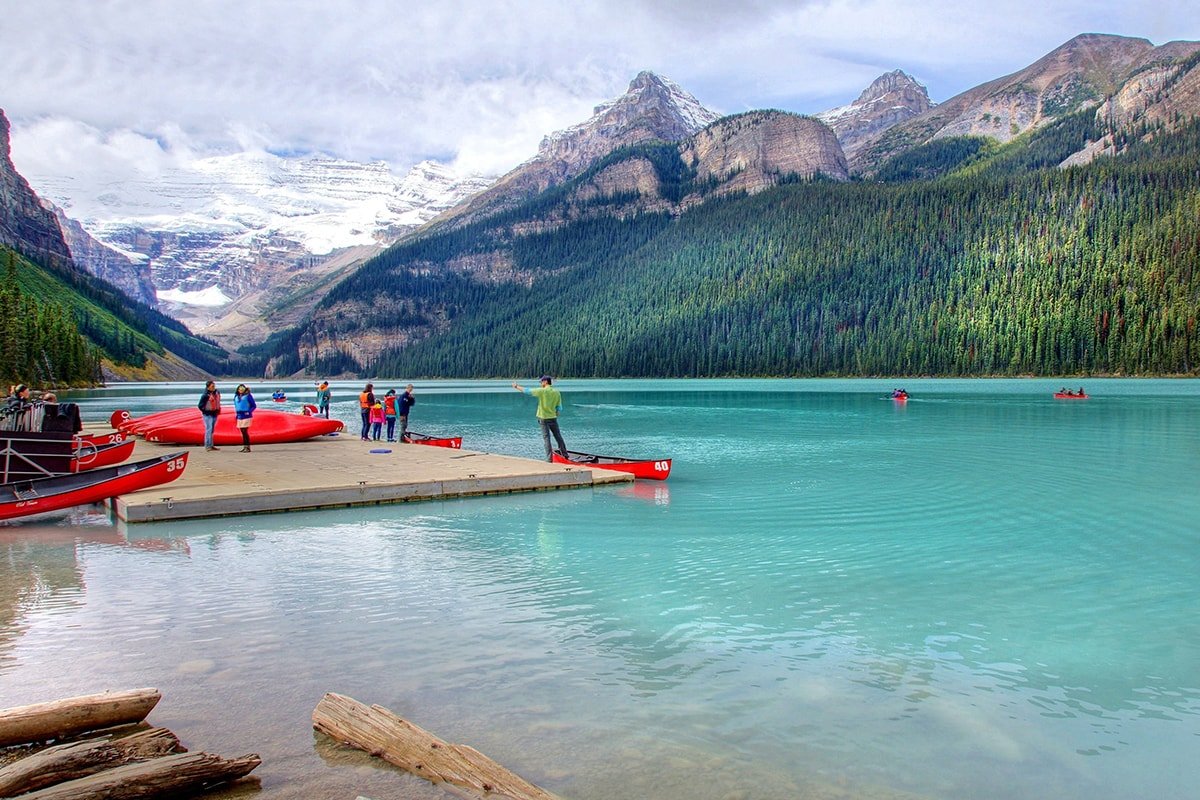 22 day Canadian Odyssey tour including Rocky Mountaineer and Luxury Boutique cruise with flights