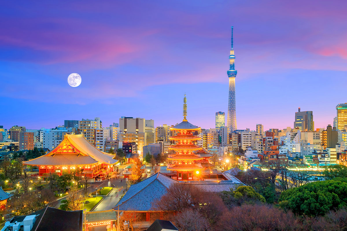 23 day Grand Japan tour with Qantas flights