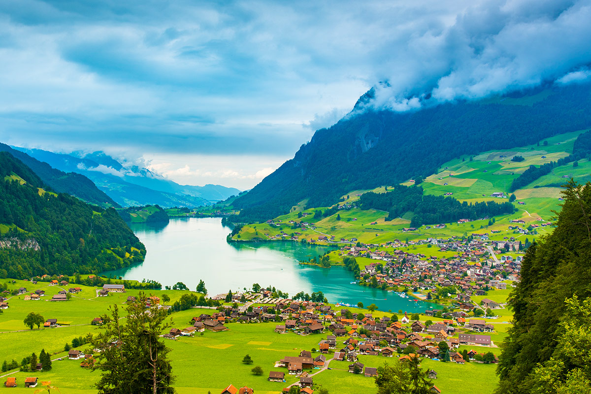 14 day Grand Train Tour of Switzerland with Emirates flights