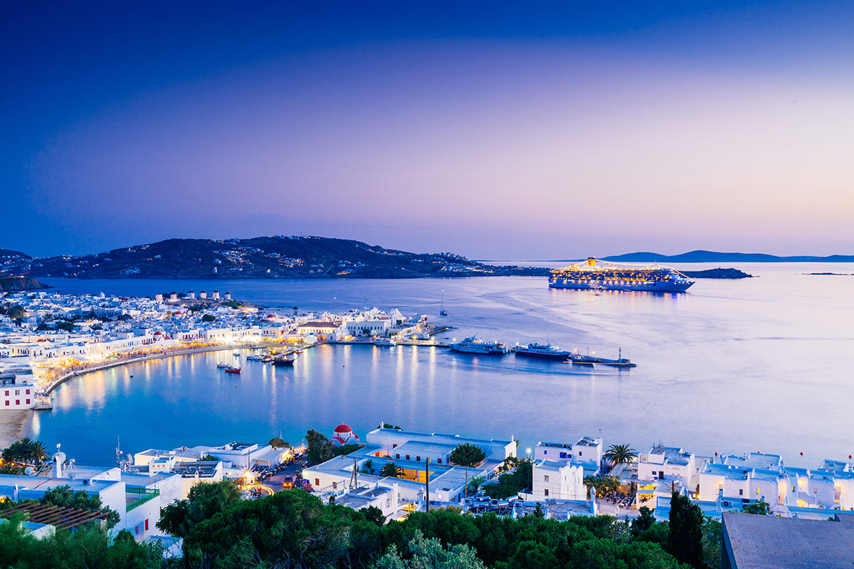 15 day Greek Island Hopping tour with Emirates flights