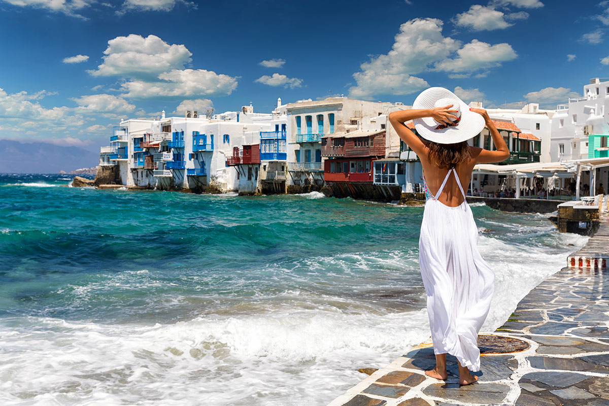 Best Island Beaches For Partying Mykonos St Barts: 13 Day Greek Island Hopping Tour