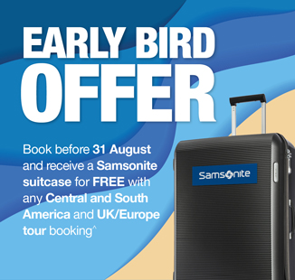 Central and South America early bird sale on now