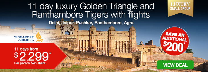 19 day Opulence of Rajasthan tour | India Tours | Webjet Exclusives