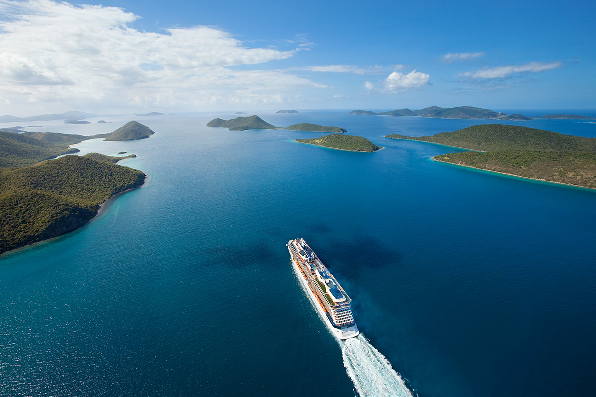 20 day Hawaii, Tahiti and New Zealand cruise package with flights
