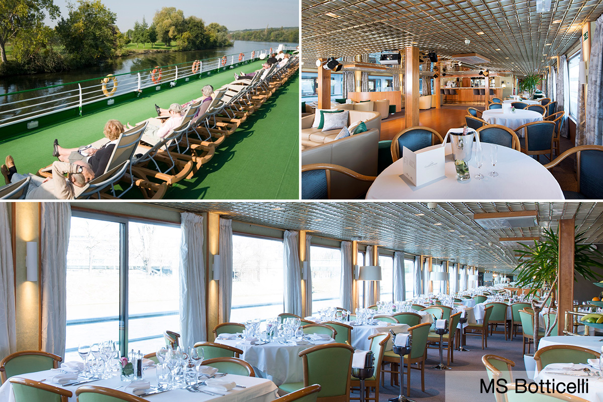 10 day Seine River cruise with Paris and the Normandy Beaches with Emirates flights