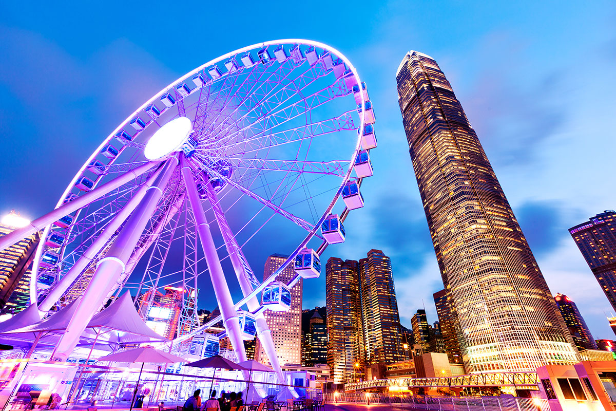 21 day Grand Asia to Sydney cruise with Hong Kong city stay and flights