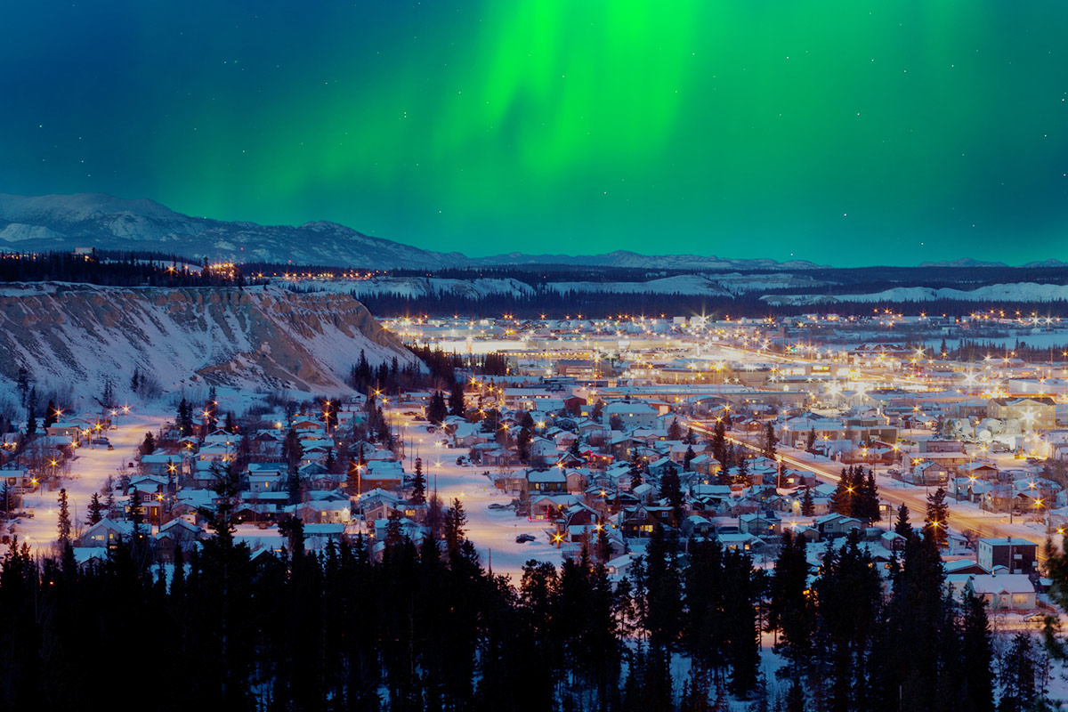 21 day Unforgettable Rockies tour with Northern Lights and flights