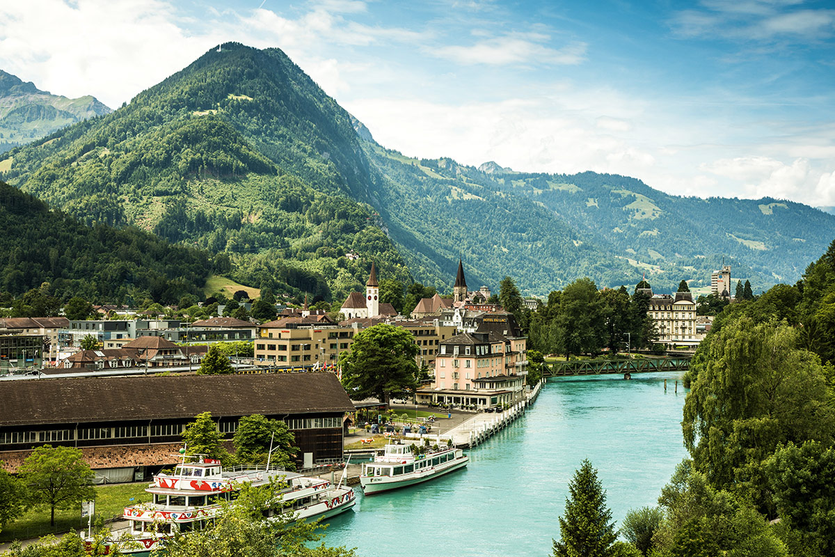 21 day Best of Switzerland tour with European river cruise and flights