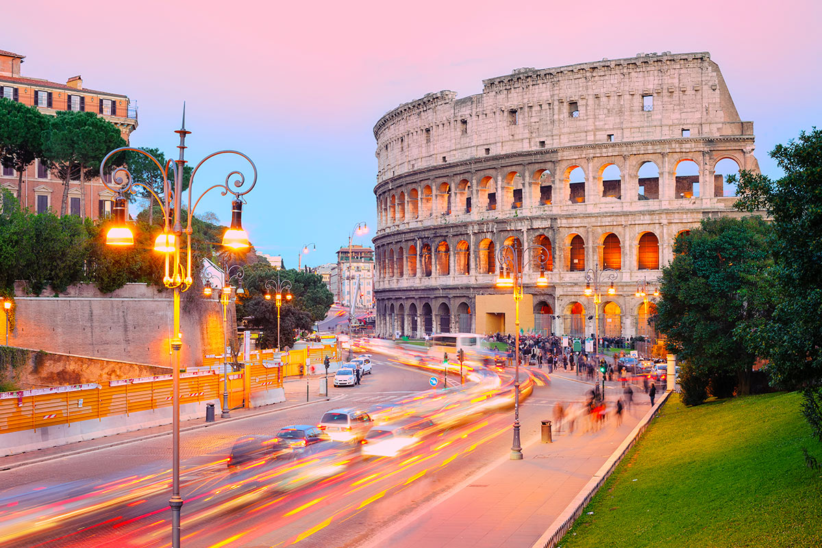 21 day Grand European Rail tour with flights