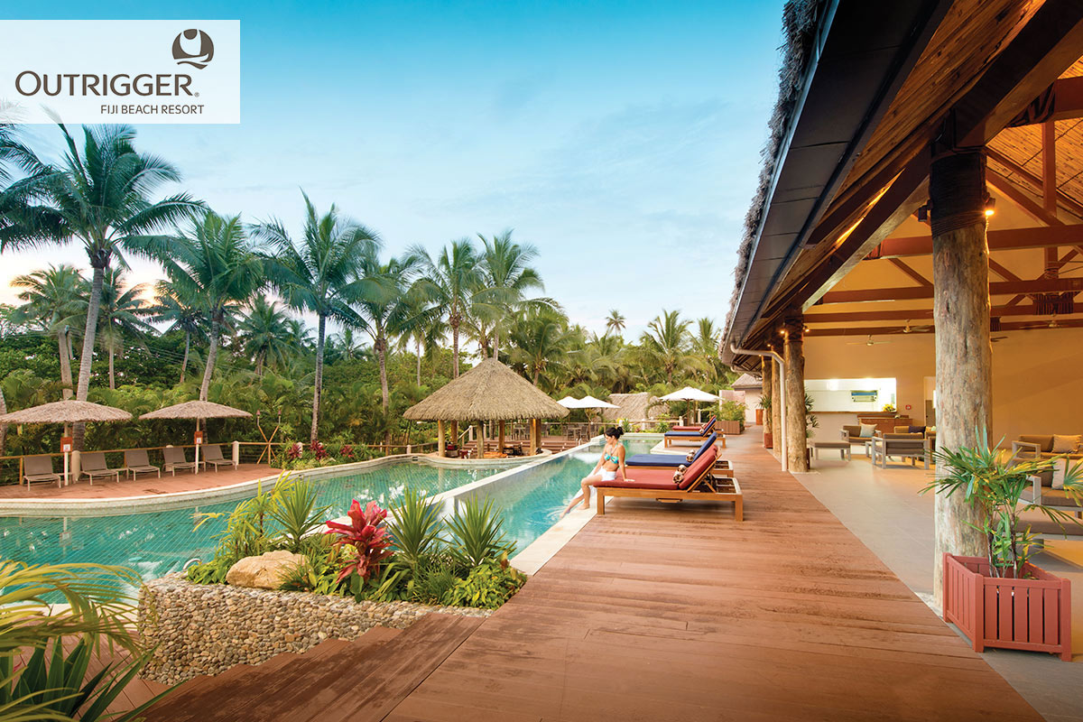 7 day Fiji getaway to Outrigger Beach Resort and Castaway Island with flights