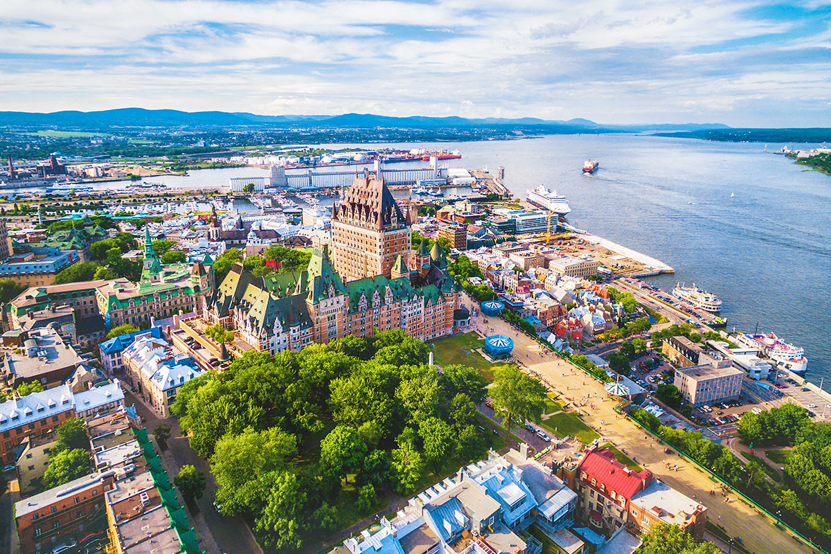 18 day Boston and Eastern Canada cruise with flights