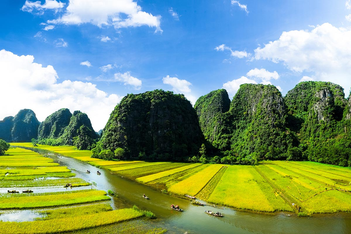 13 day Flavours of Vietnam food tour with Halong Bay and flights