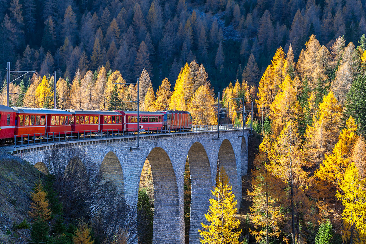 14 day Spectacular Switzerland by Rail with flights