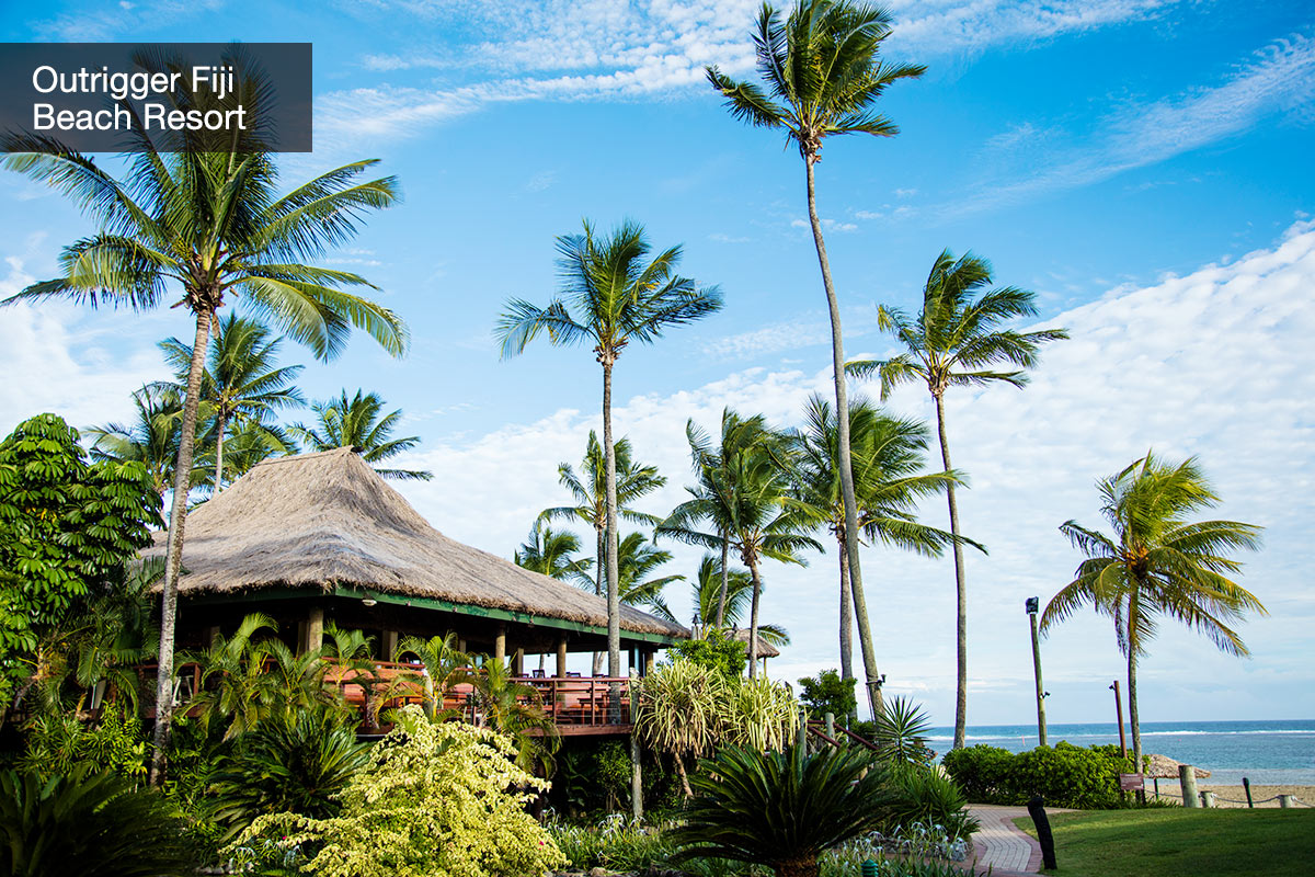 7 day 5-star Outrigger Fiji Beach Resort Fiji package with flights