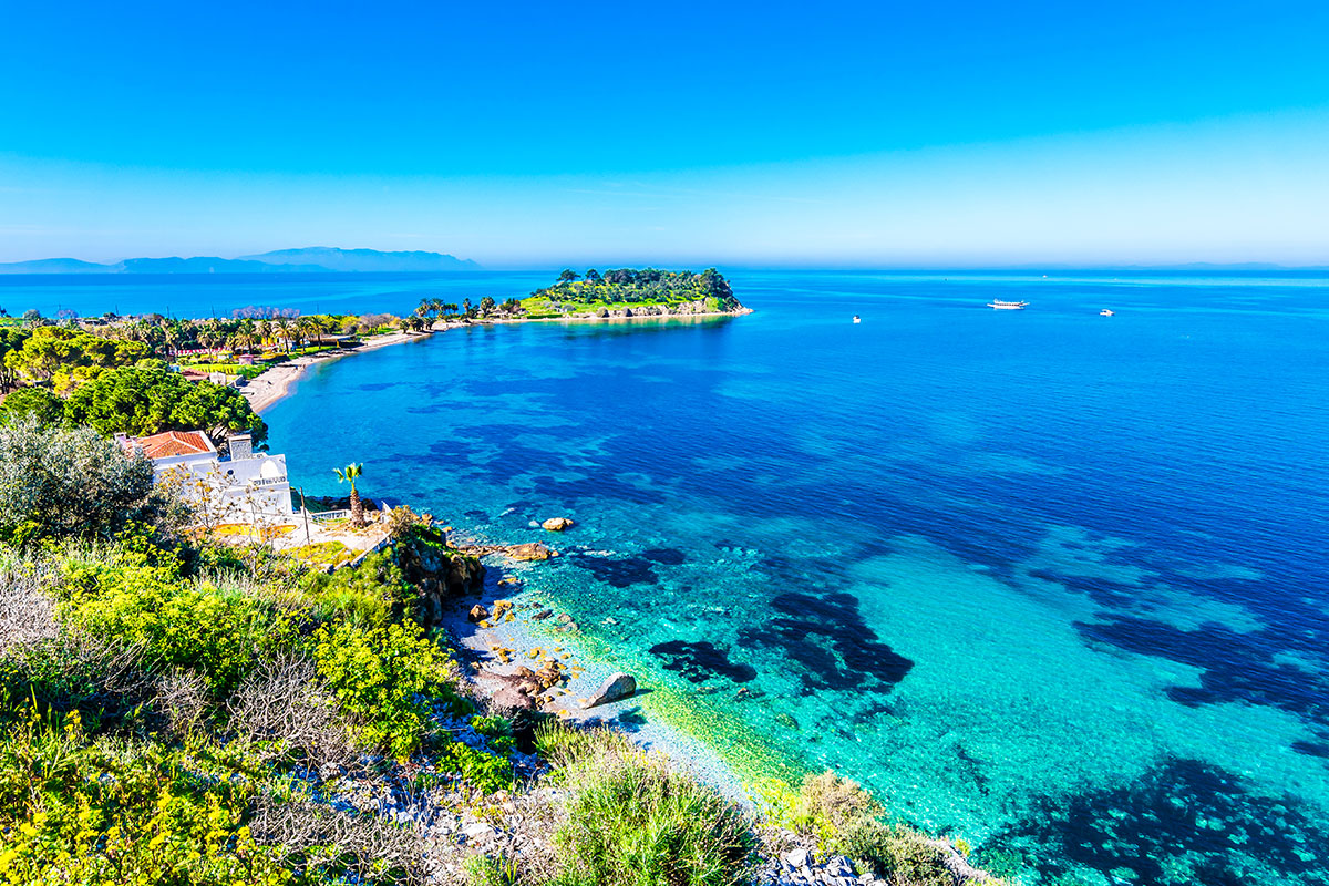 15 day Grand Highlights of Greece tour with Eastern Mediterranean cruise and flights